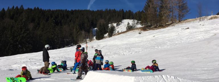 Snowboardkurse in der Actionwelt Sudelfeld