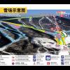 Pistenplan des Bereichs Sun Mountain im Skigebiet Yabuli
