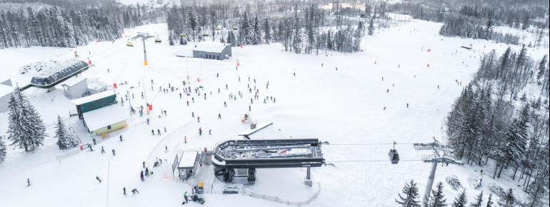 Mehr als 20 Pistenkilometer bietet das Szczyrk Mountain Resort.