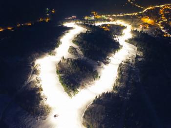 Auch Nachtskifahren ist hier möglich.
