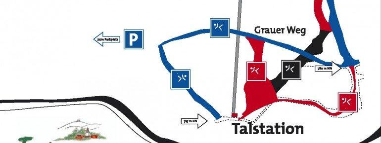 Pistenplan Tabarz Inselsberg