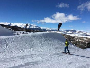 Das Skigebiet Telluride in Colorado ist aufgrund seiner Pistenvielfalt ein ideales Skigebiet für Skifahrer und Snowboarder jeder Könnerstufe.