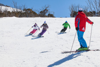 Skifahren in Thredbo
