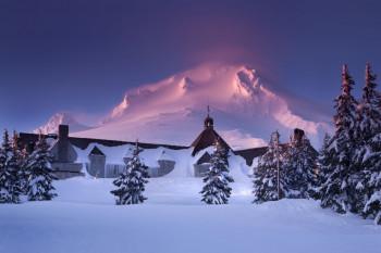Mt. Hood ist der höchste Berg Oregons.