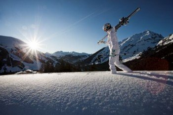 Ein wunderbarer Skitag in Berwang geht zu Ende.