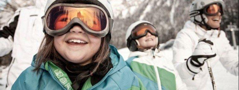 Vorfreude auf den Skitage mit der ganzen Familie.