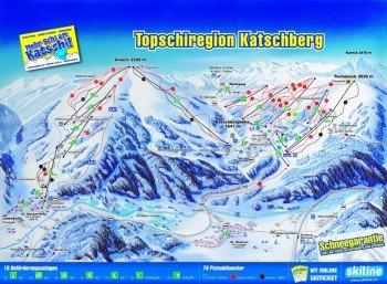 Pistenplan Katschberg