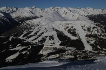 Blick vom Aineck zum Tschanek am Katschberg