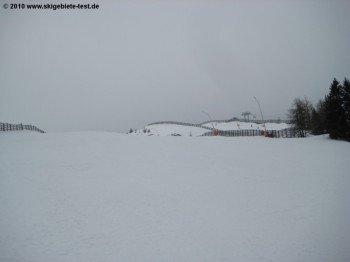 Piste 9 zwischen Gamskogelexpress und Freiberglift