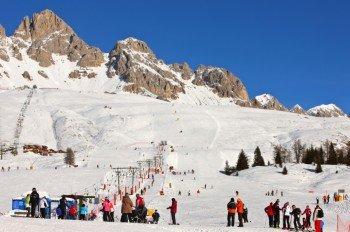 Skigebiet Trevalli - Passo S. Pellegrino.