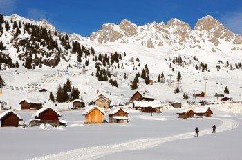 Skiarea Trevalli - Passo S. Pellegrino.