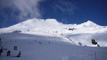 Zum Skifahren und Snowboarden stehen 20 km Pisten zur Verfügung.