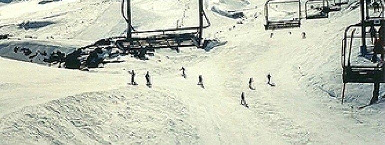 7 Lifte befördern die Wintersportler.