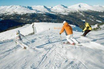 Auf 42 Pistenkilometer können sich die Wintersportler auf der Turracher Höhe austoben.