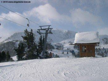 Bergstation des Wildkopflifts!