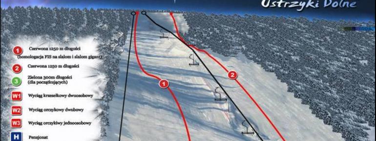 Pistenplan Laworta Ski