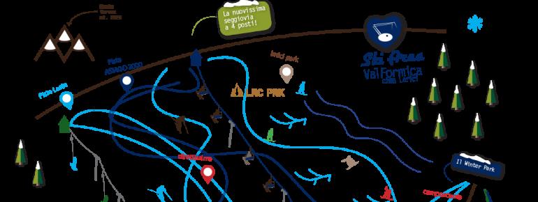 Pistenplan Val Formica - Cima Larici