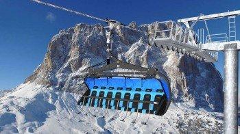 Die neue Sesselbahn Gran Paradiso
