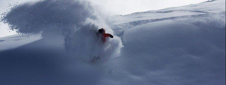 Die Schneesicherheit hat das chilenische Gebiet der Höhenlage zu verdanken.