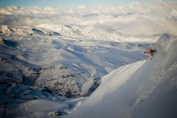 Das Skigebiet bietet atemberaubende Ausblicke in die chilenische Bergwelt.