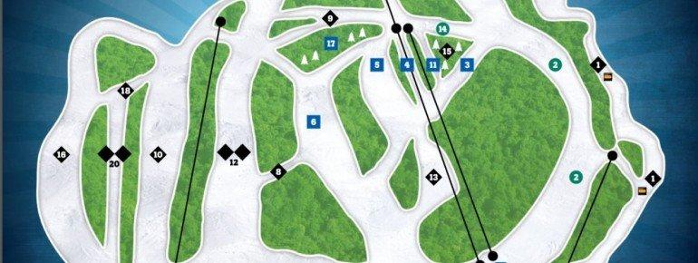 Pistenplan Vallee du Parc