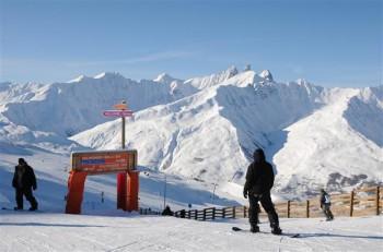 Galibier Thabor bietet 150 Pistenkilometer.