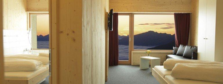 Übernachtung auf der Venet Gipfelhütte