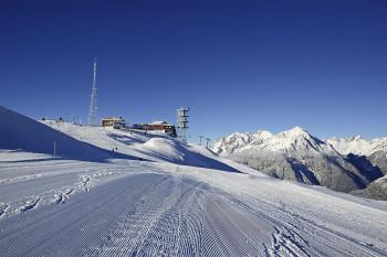 Bergstation mit Gipfelhöhe am Venet