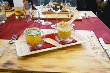 Kulinarium im Panoramarestaurant der Venet Gipfelhütte