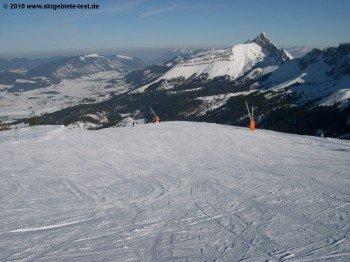 Schönes Panorama an den Bergstationen!