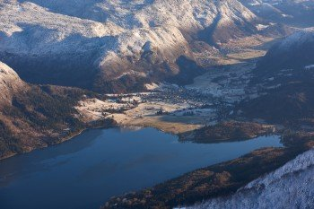 Die Talabfahrt Žagarjev Graben führt bis hinunter zum Bohinj-See.