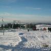 In der Ski-und Rodelarena Hoherodskopf befindet sich die längste Abfahrt in Hessen- die Piste am Breungeshainer Hang.