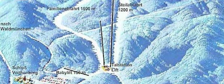 Pistenplan Furth im Wald