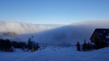 Das Lauscheareal gehört zu den fünf größten Skigebieten in Sachsen