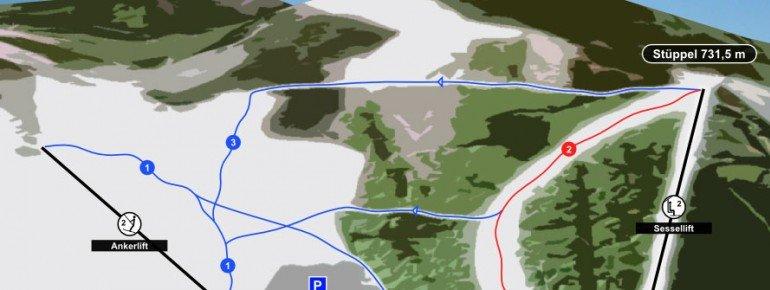 Pistenplan Fort Fun Winterwelt
