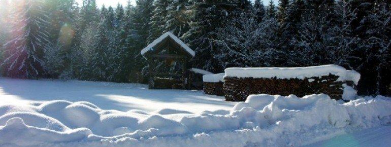 Das Skigebiet Weissbriach befindet sich in der Region Nassfeld-Pressegger.