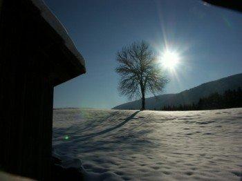 Die Kärntner Winterlandschaft lädt zu ausgedehnten Spaziergängen ein.