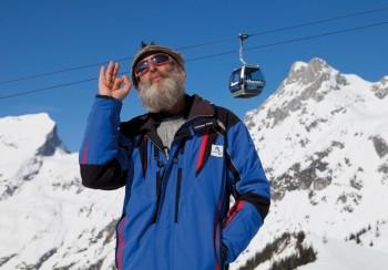 Einen Daumen hoch für das Werfenwenger Skigebiet