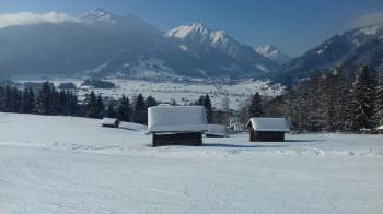 Panoramablick in den Talkessel von Ehrwald-Lermoos-Bieberwier