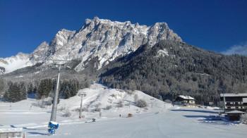 Skischullift in der Beginners Area am Sonnenhang