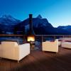 Toll für einen Sundowner: Terrasse des Sonnenhangs