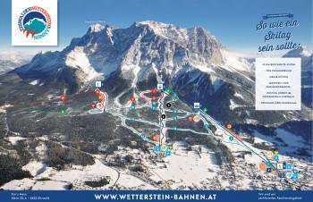 Pistenplan Ehrwalder Wettersteinbahnen