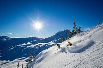 Whistler Blackcomb sorgt mit seiner atemberaubenden Bergwelt für ein einzigartiges Skierlebnis.
