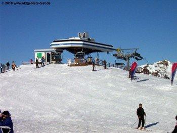 Bergstation des Ganseralmlifts!