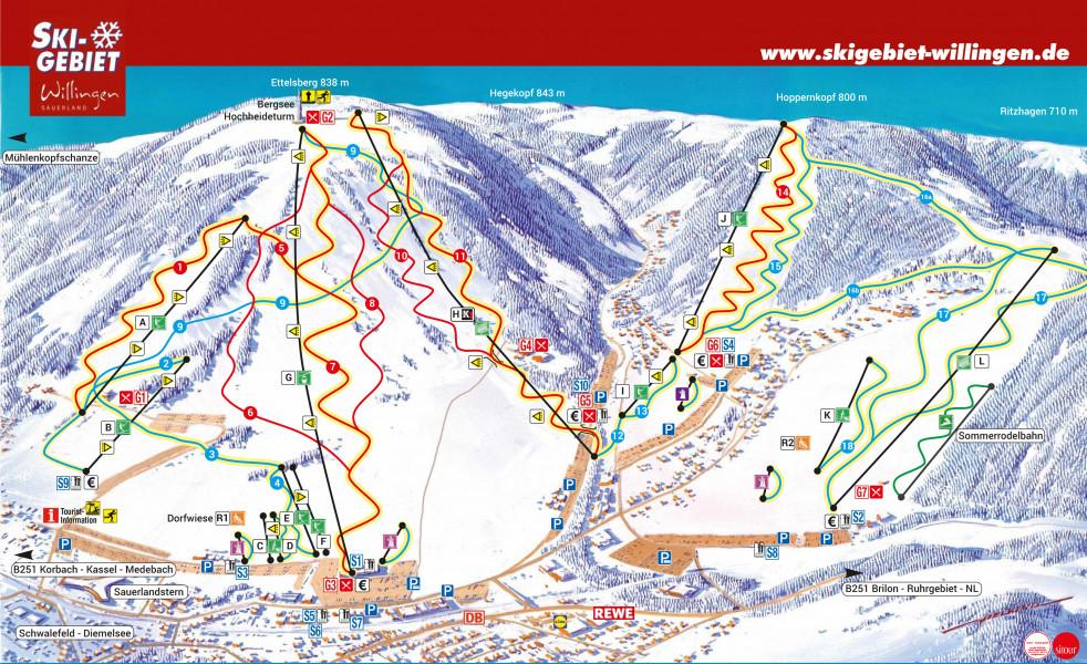 Skigebiete Willingen