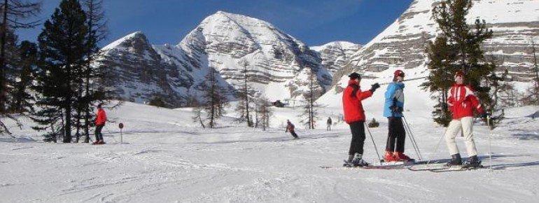 Über 20 Pistenkilometer stehen den Wintersportlern zur Verfügung.