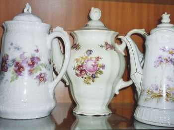 Zirka 1.400 verschiedene Kaffeekannen gibt es im Kaffeekannen Museum in Spital am Pyhrn zu sehen.