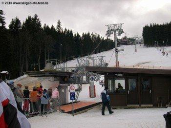 Der Stolz der ganzen Skiregion: Die neue 4er Sesselbahn