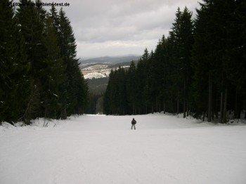 Die Geographie im Böhmerwald erlaubt nur mässig steile Hänge