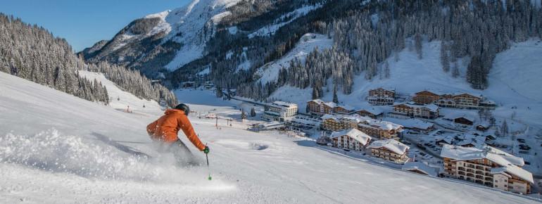 Ski-in, Ski-out im Skiparadies Zauchensee/Flachauwinkl